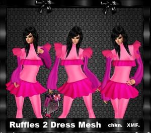 Ruffles Dress 2 Mesh