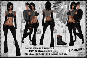 QH-V2 Female Bundle