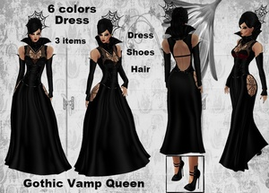 Gothic Vamp Queen Bundle