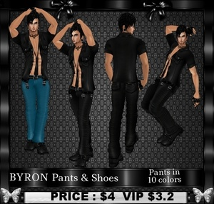 BYRON Pants & Shoes