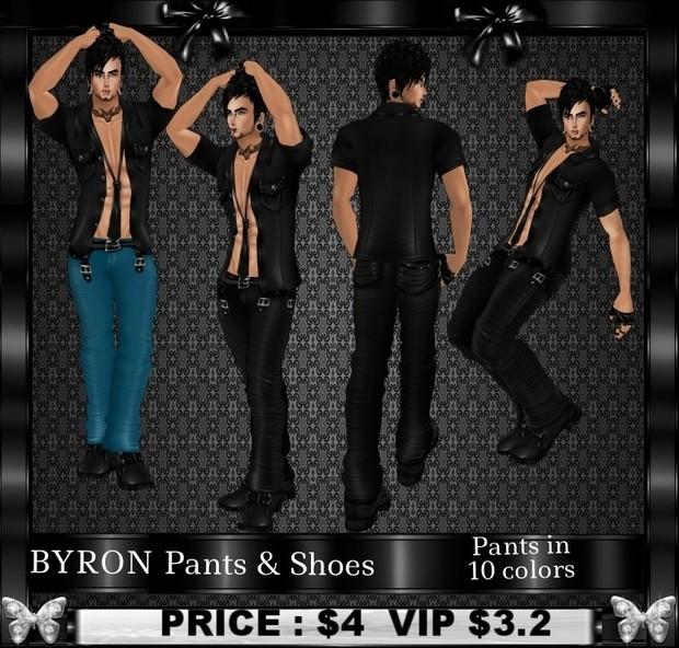 BYRON Pants & Shoes