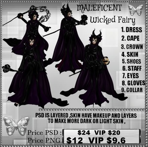 MALEFICENT WICKED FAIRY