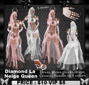 Diamond La Neige Queen