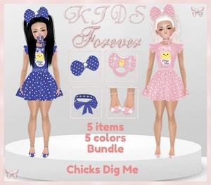 KIDS - 3 Chick Dig Me Bundle