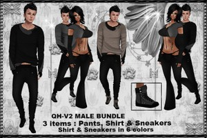 QH -V2 Male Bundle