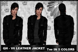 QH - V6 Leather Jacket