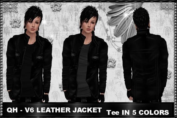 QH - V6 Leather Jacket
