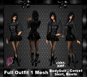 Full outfit 1 Mesh