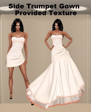 Side Trumpet Gown