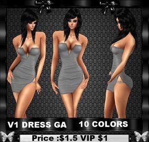 V1 DRESS GA