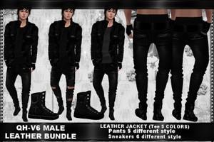QH - V6 Leather Male Bundle