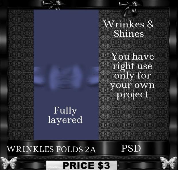 WRINKLES FOLDS 2A