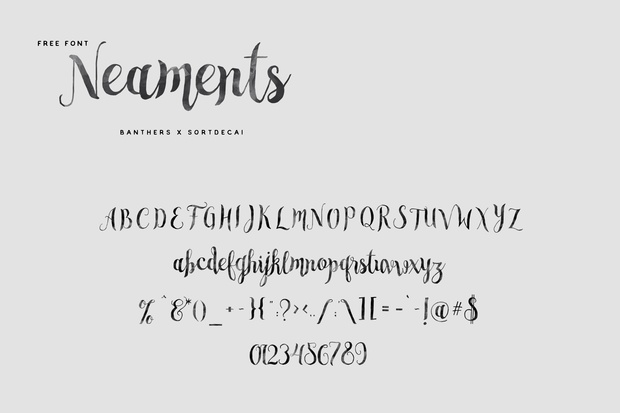 Neament Free Font