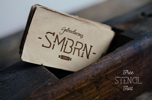 Smbrn Free Font