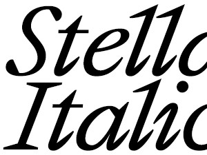 Stellage Italic