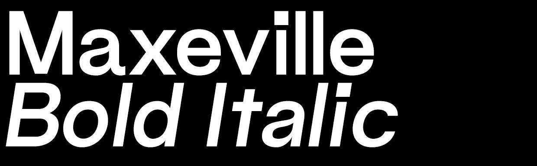 Maxeville Bold Italic (OTF)