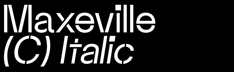 Maxeville Construct Italic (OTF)
