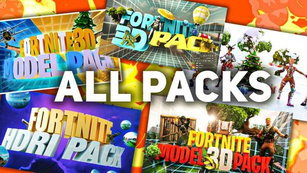 All in one Pack Fortnite