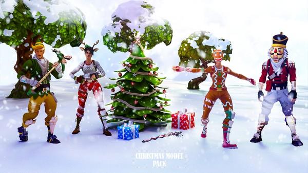 Fortnite Christmas Model Pack