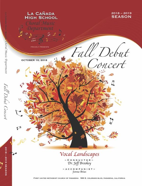 October 10, 2018 Fall Concert