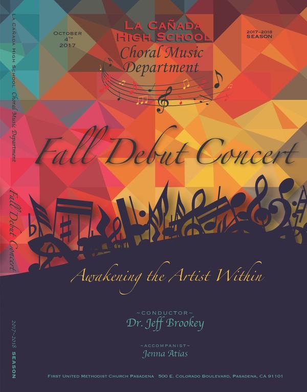 October 4, 2017 Fall Concert