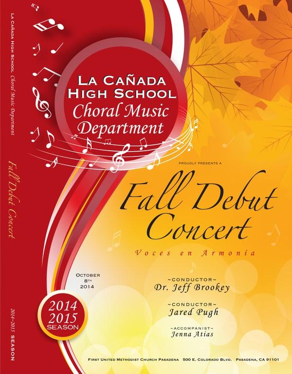 October 8, 2014 Fall Debut Concert