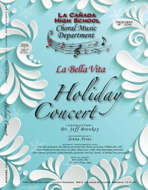 December 12, 2016 Holiday Concert