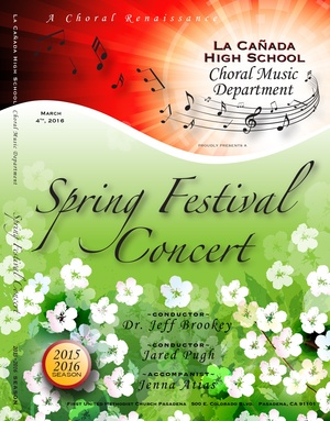 March 4, 2016 Spring Festival Concert