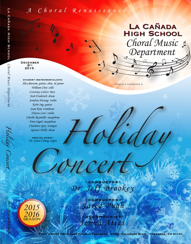 December 8, 2015 Holiday Concert