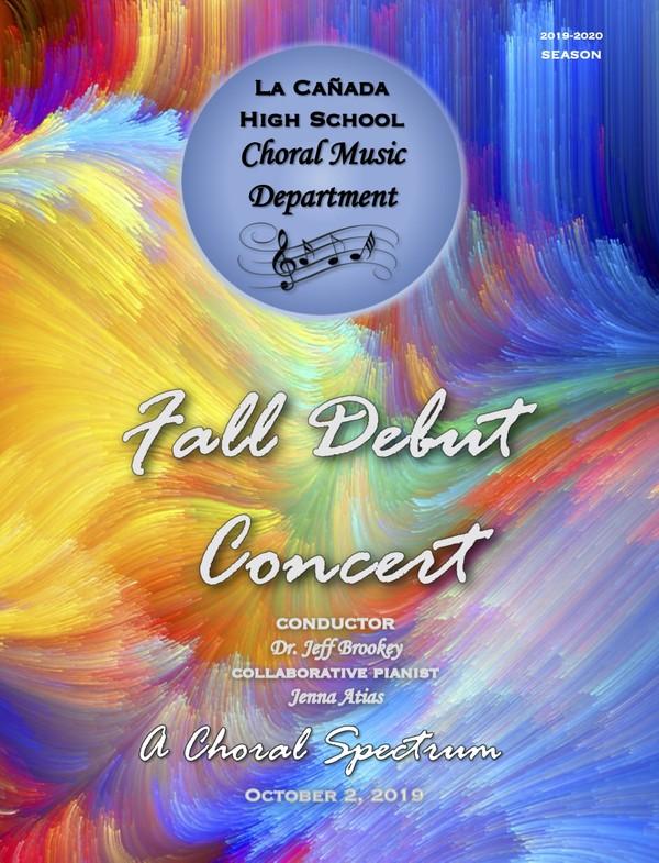 October 2, 2019 Fall Debut Concert