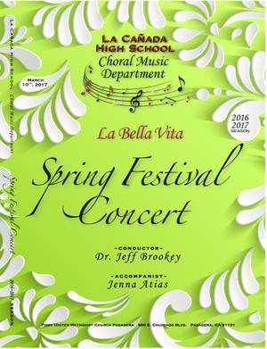 March 10, 2017 Spring Festival Concert