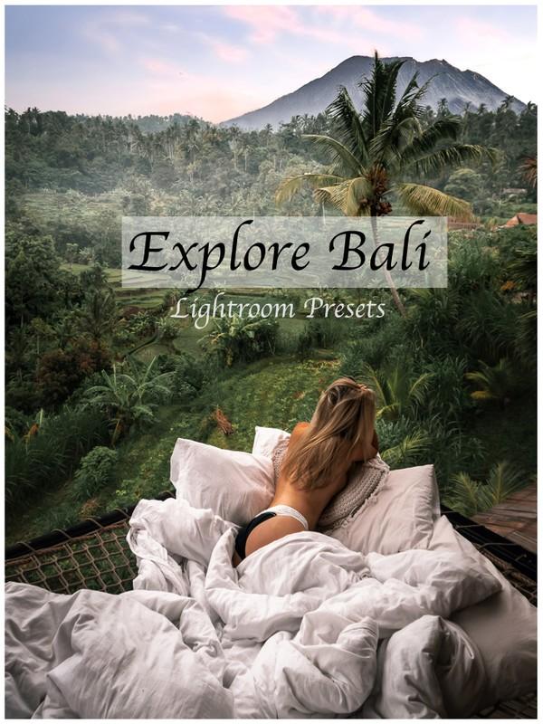 Explore Bali Lightroom Presets (Desktop + Mobile)