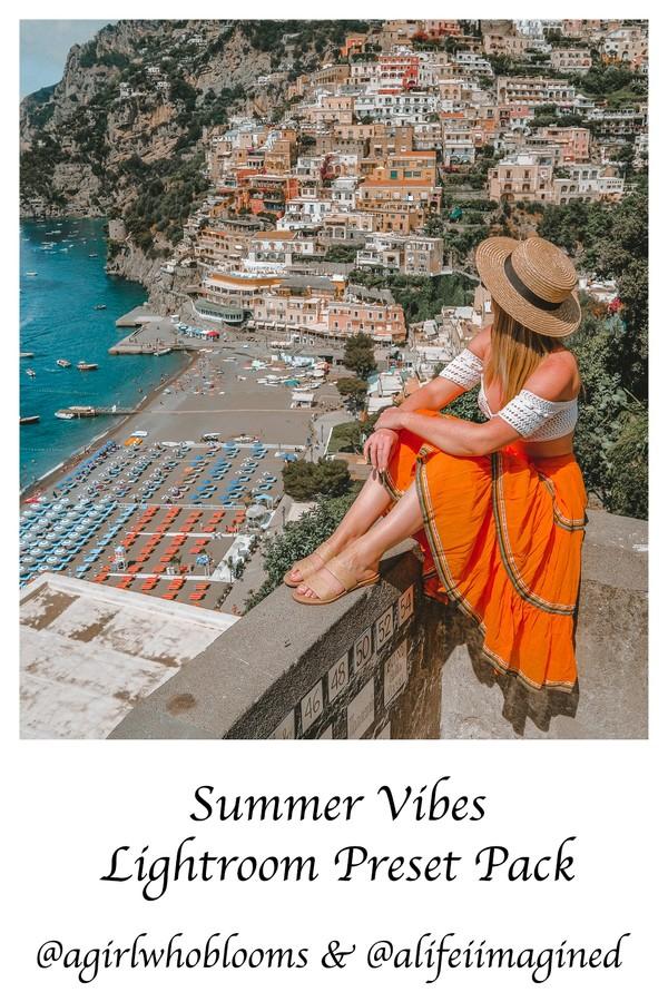 European Summer Vibes Mobile Lightroom Preset Pack