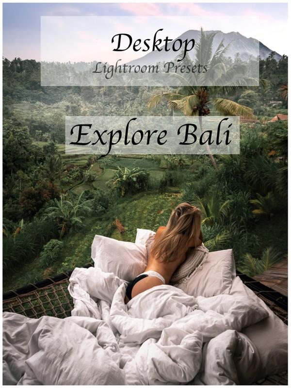 Explore Bali Desktop Presets