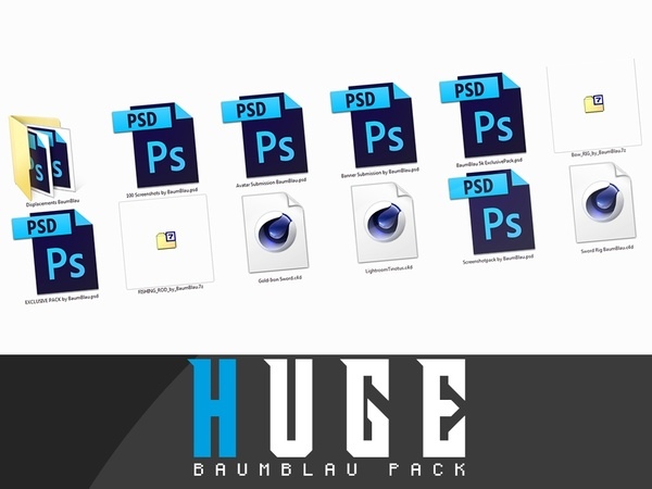 HUGEPACK PACK / by BaumBlau » use it!