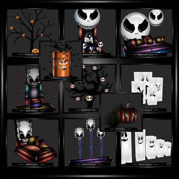 Halloween Meshes