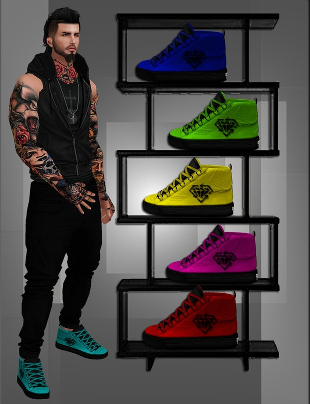 Kicks in Colours With Resell Rights