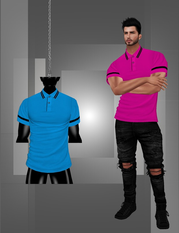 Polo T-Shirt With Resell Rights