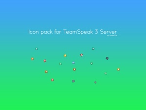 Small icon pack for TeamSpeak server