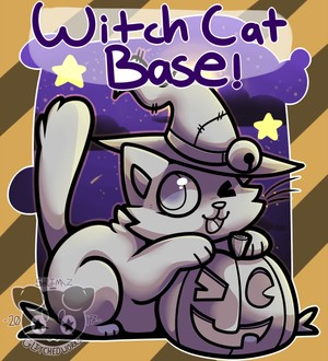 Witch Cat Base