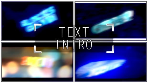custom 3d text intro [1080p60] [closed]