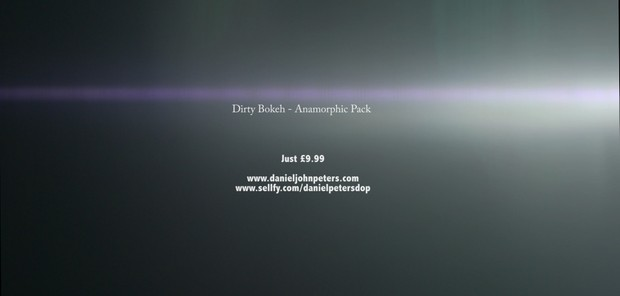 Dirty Bokeh - Anamorphic Pack (overlays)