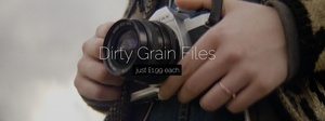 Dirty Dirty Grain (film grain video file)
