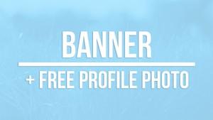 Banner + free profile picture