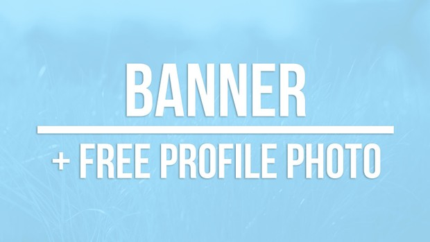 Banner + free profile picture