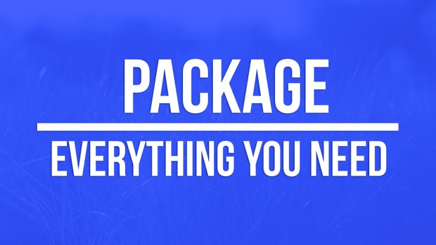 PACKAGE ( Intro + Outro + Banner + logo + thumbnail style )