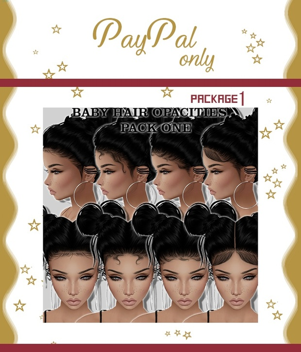 Baby Hair Pack 1 (Read product description) $50 with mesh!