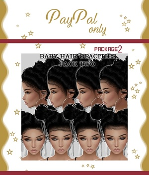 Baby Hair Pack 2 (Read product description) $50 with mesh!