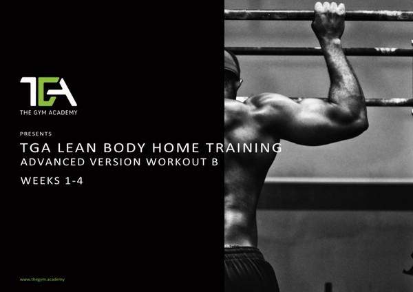 Lean Body Beginners Workout B