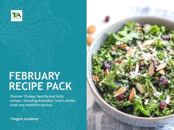 February Recipe Pack